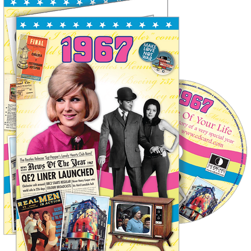 1967 The Time Of Your Life Greeting Card with DVD