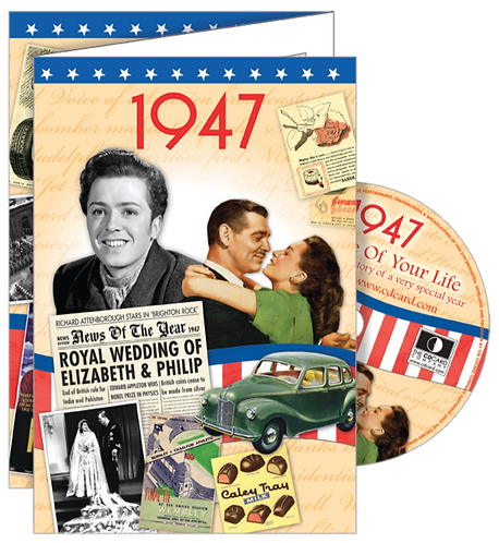 1947 The Time Of Your Life Greeting Card with DVD