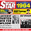 Thumbnail: 1964 Birthday Star Greeting Card with Hit Songs, Download Code and retro CD