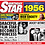 Thumbnail: 1956 Birthday Star Greeting Card with Hit Songs, Download Code and retro CD