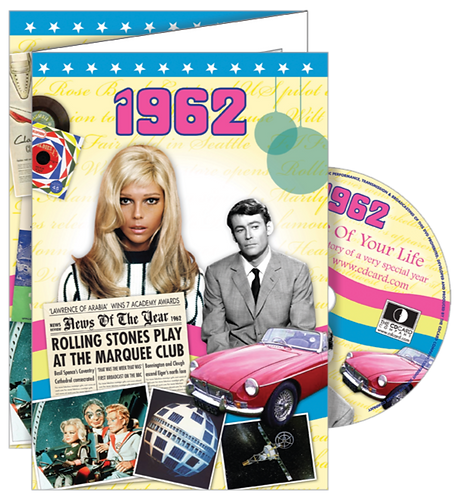 1962 The Time Of Your Life Greeting Card with DVD
