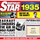 Thumbnail: 1935 Birthday Star Greeting Card with Hit Songs, Download Code and retro CD