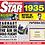 Thumbnail: 1935 Birthday Star - Year Of Birth Music Downloads Greeting Card + Retro CD