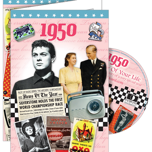 1950 The Time Of Your Life Greeting Card with DVD