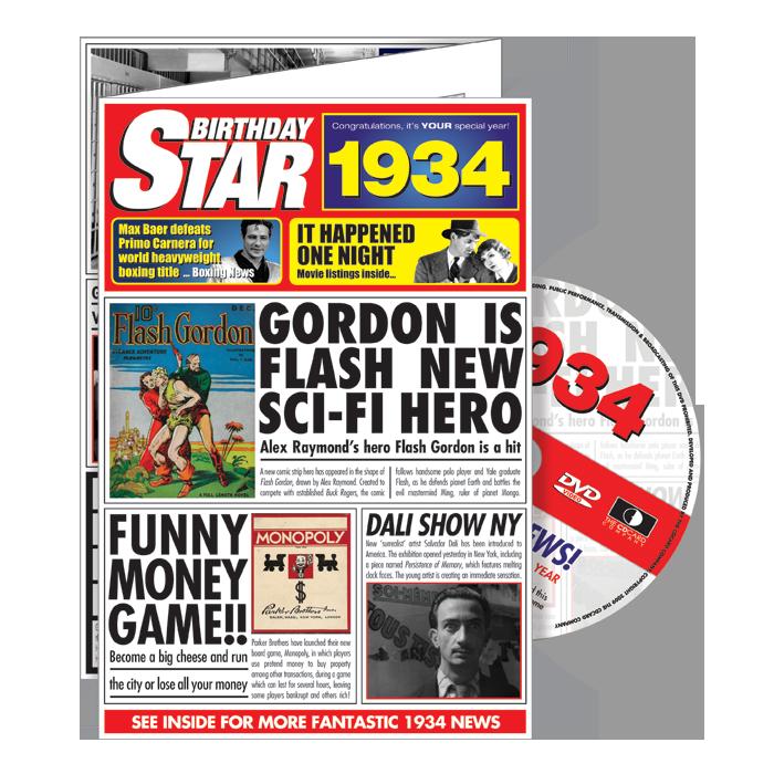 1934-1939 Star DVD