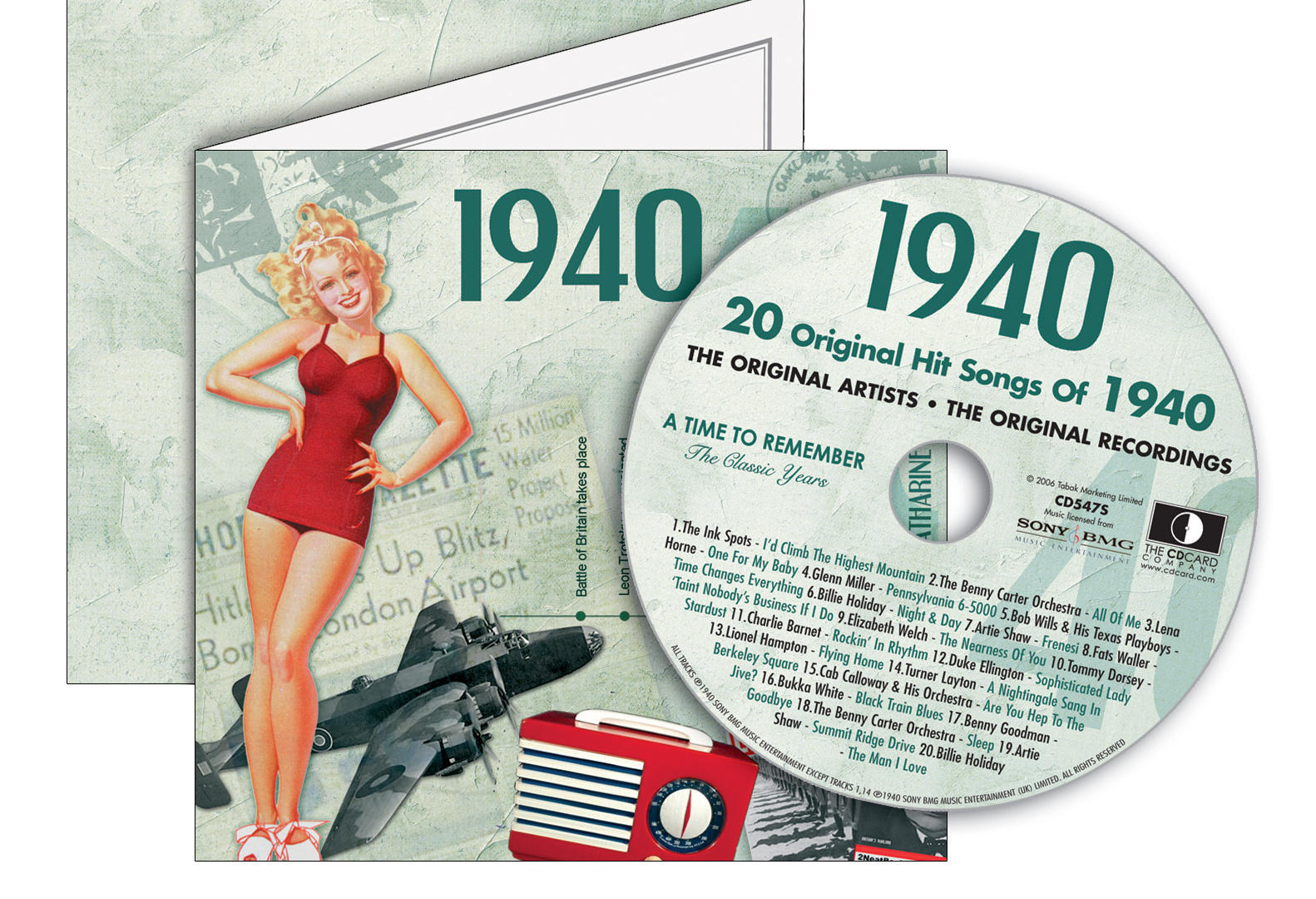 1940-1949 Classic CD