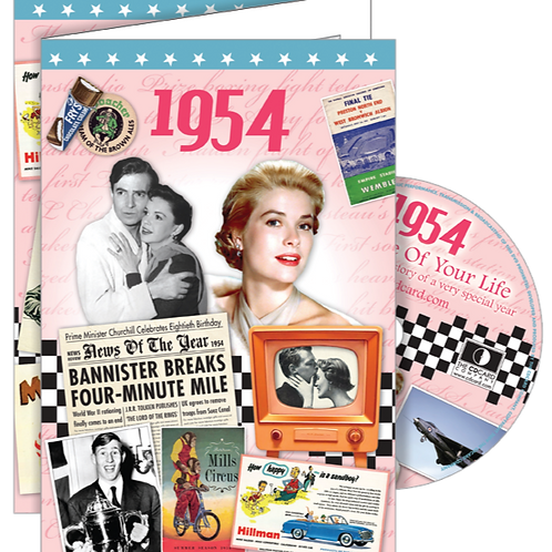 1954 The Time Of Your Life Card with DVD