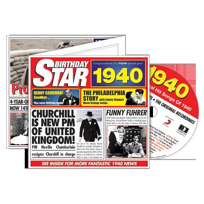 1940-1949 Star CD