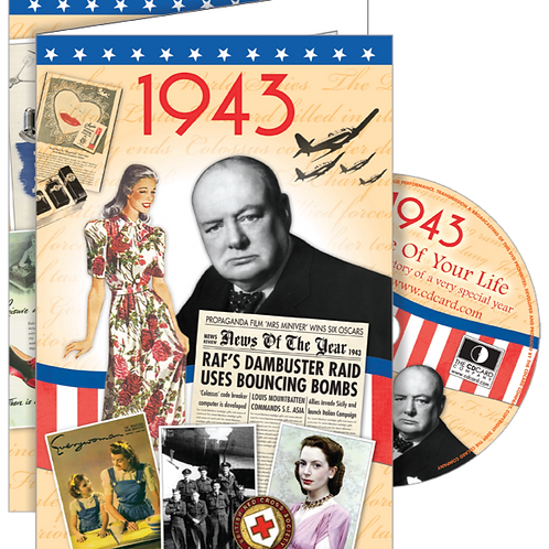1943 The Time Of Your Life Greeting Card with DVD