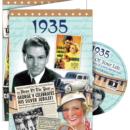 1935 The Time Of Your Life Greeting Card with DVD