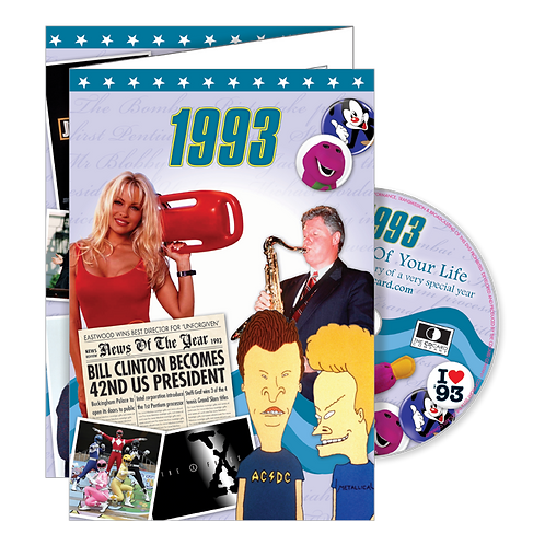 1993 The Time Of Your Life Greeting Card with DVD