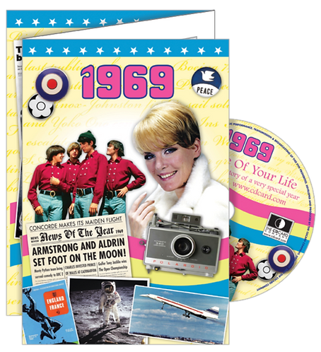 1969 The Time Of Your Life Greeting Card with DVD