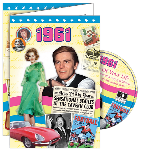 1961 The Time Of Your Life Greeting Card with DVD