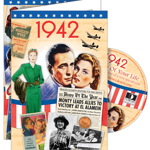 1942 The Time Of Your Life Greeting Card with DVD