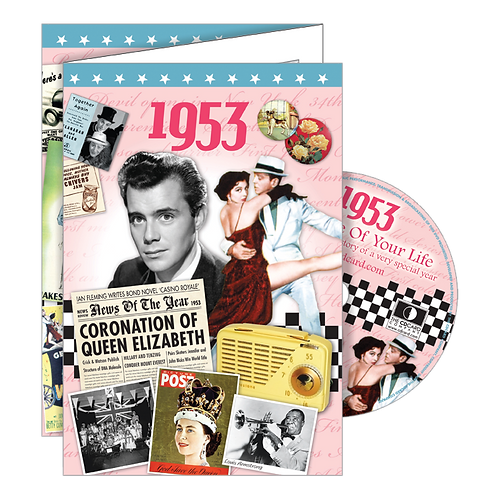 1953 The Time Of Your Life Greeting Card with DVD
