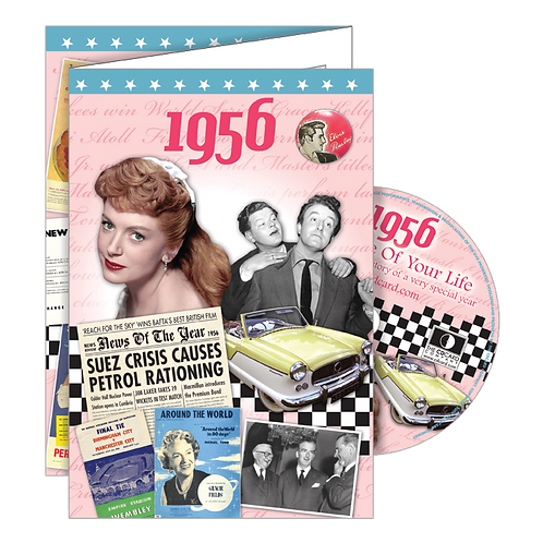 1956 The Time Of Your Life Greeting Card with DVD