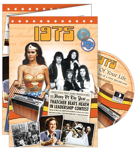 1975 The Time Of Your Life Greeting Card with DVD