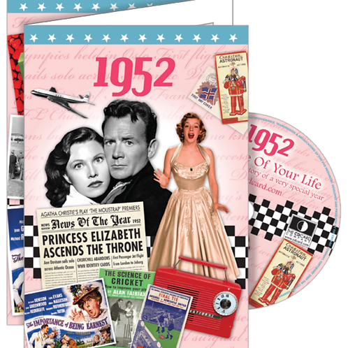 1952 The Time Of Your Life Card with DVD