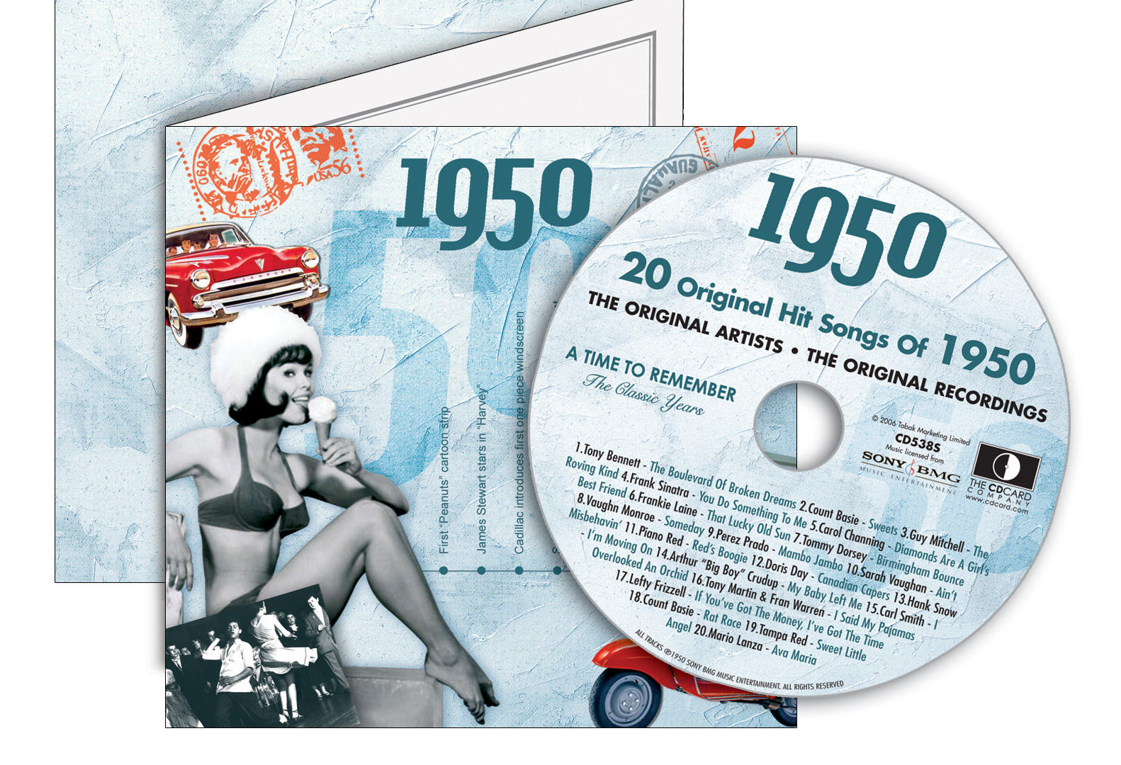 1950-1959 Classic CD