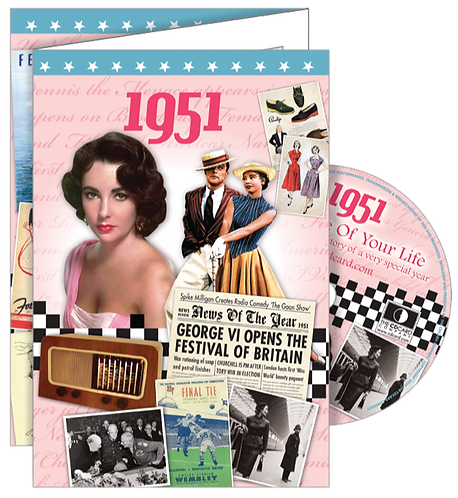 1951 The Time Of Your Life Greeting Card with DVD