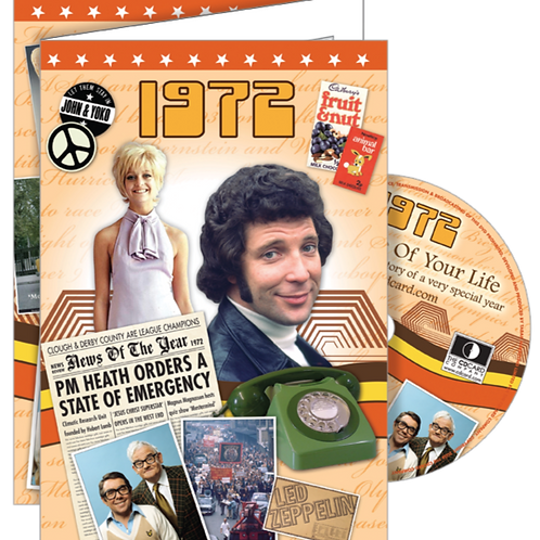 1972 The Time of Your Life Greeting Card with DVD
