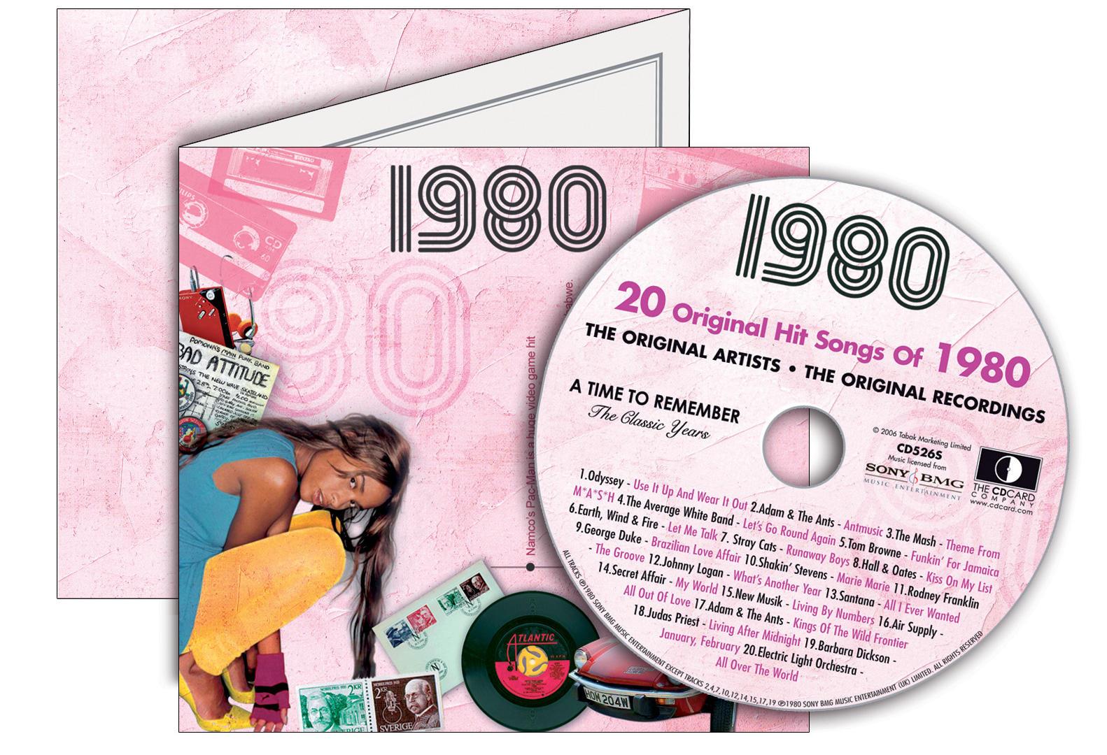 1980-1989 Classic CD