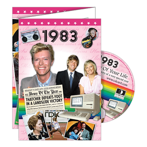 1983 The Time Of Your Life Greeting Card with DVD