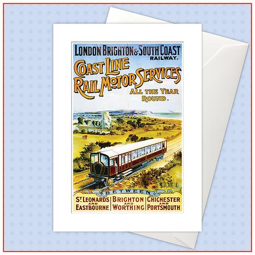 Vintage Railways: Coastline Rail Motor Services