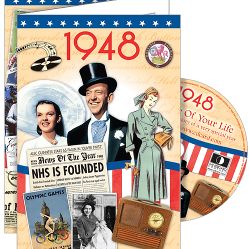 1948 The Time Of Your Life Greeting Card with DVD