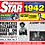 Thumbnail: 1942 Birthday Star Greeting Card with Hit Songs, Download Code and retro CD