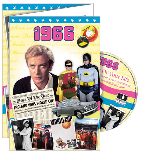 1966 The Time Of Your Life Greeting Card with DVD