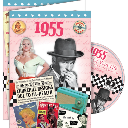 1955 The Time Of Your Life Greeting Card with DVD