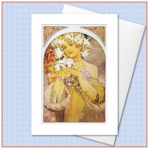 The Mucha Collection: La Fleur
