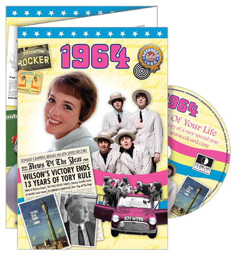 1964 The Time Of Your Life Greeting Card with DVD