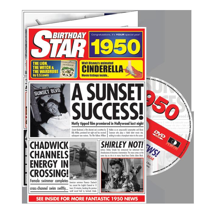 1950-1959 Star DVD