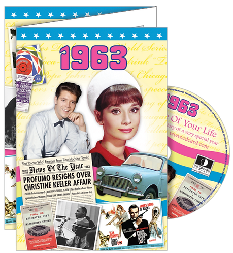 1963 The Time Of Your Life Greeting Card with DVD