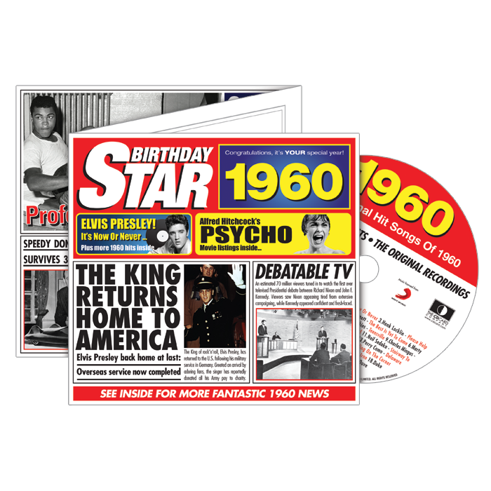 1960-1969 Star CD