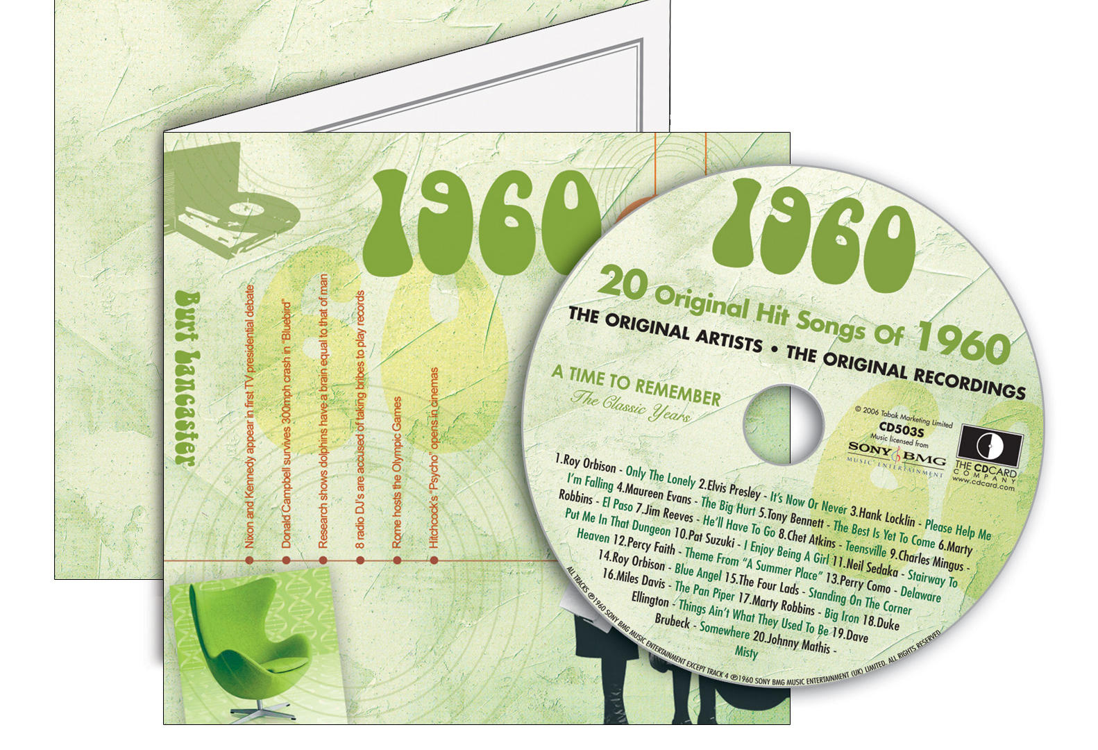 1960-1969 Classic CD