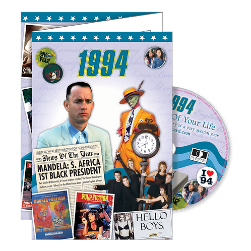 1994 The Time Of Your Life Greeting Card with DVD