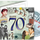 Thumbnail: 70th Birthday Greeting Card with Hit Songs, Download Code and retro CD