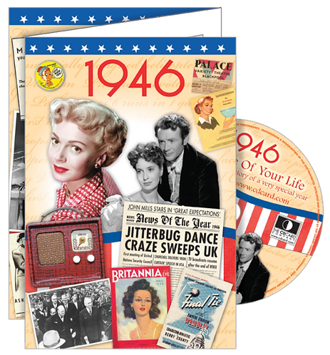 1946 The Time Of Your Life Greeting Card with DVD