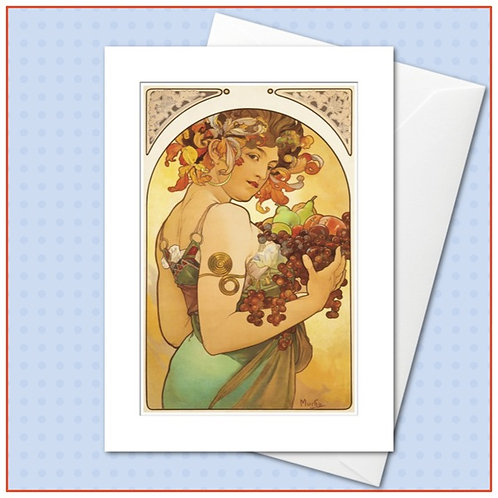 The Mucha Collection: Le Fruit