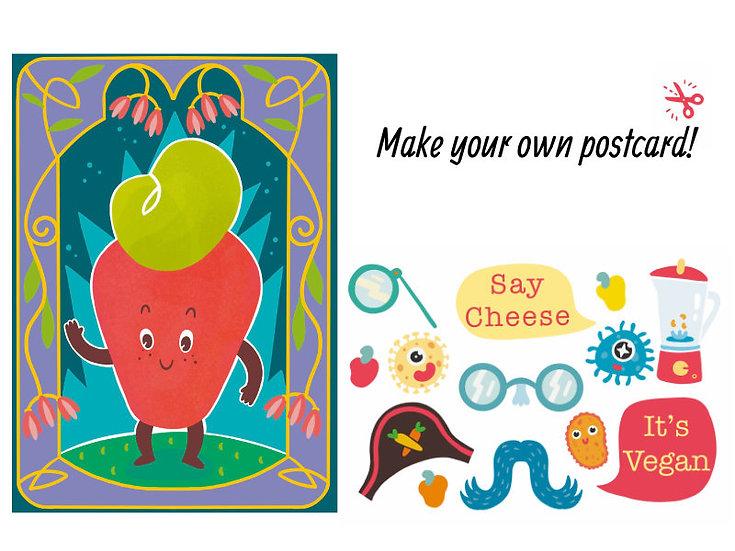 Make your own Postcard (Digital, PDF)
