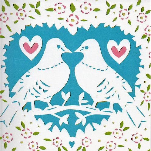 Love Birds  card by Kate