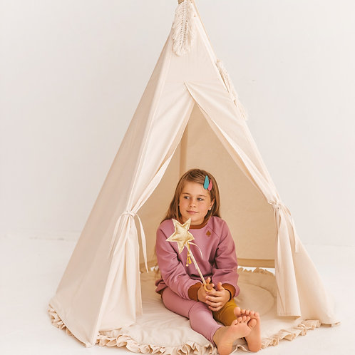 Kids Indoor Play Tent - Teepee Tent for Toddlers - Childrens Bedroom Furniture