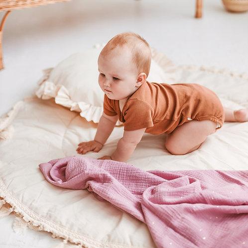 Pink Baby Burp Cloths