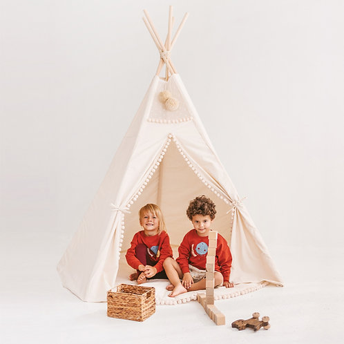 Extra Large Kid Teepee Tent by Minicamp