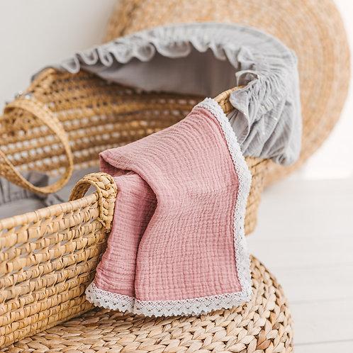 Baby Girl Muslin Swaddle Blanket