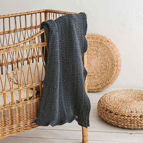 Linen Waffle Towel for Baby
