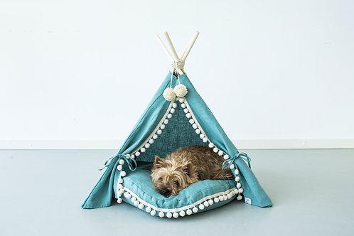 luxury pet bed, pet teepee